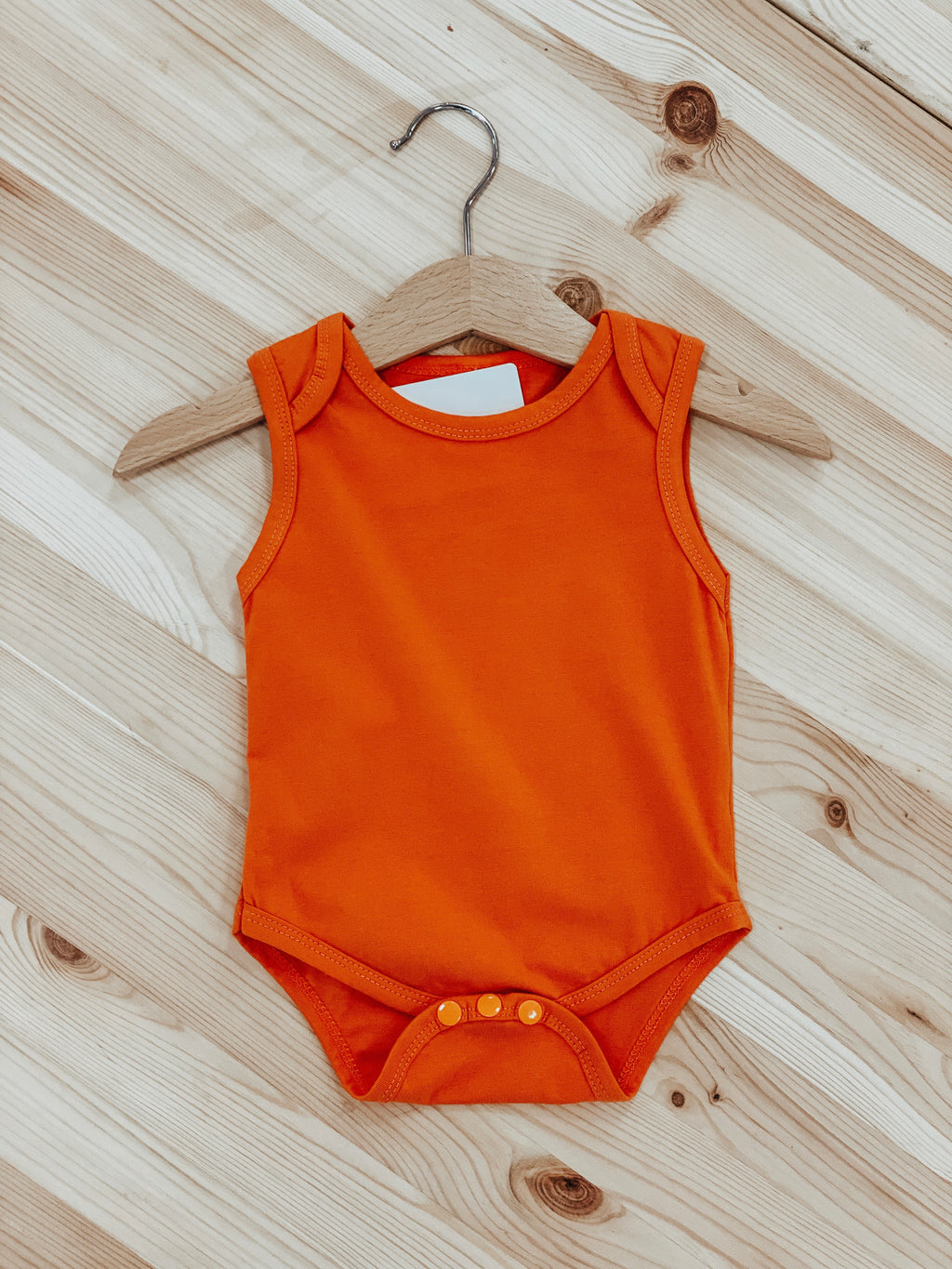 Basic Babe Bodysuit in Orange