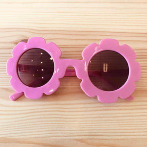 Retro Flower Sunnies in Pink