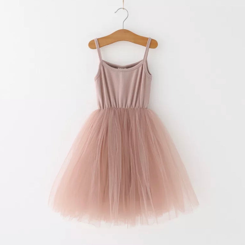 Ballerina Tutu Dress in Mauve