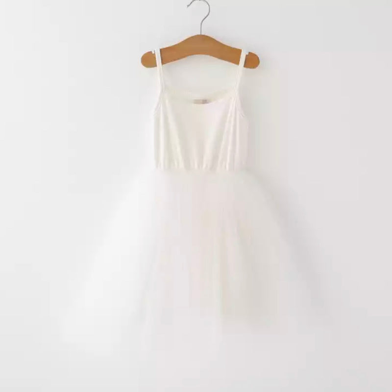 Ballerina Tutu Dress in White
