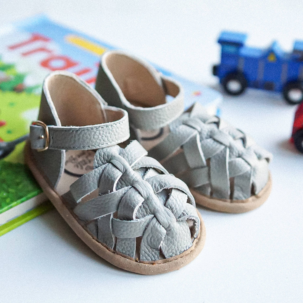 Little Love Bug Gray Ella Sandal