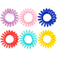 Metallic No-Crease Ponytail Holder Set