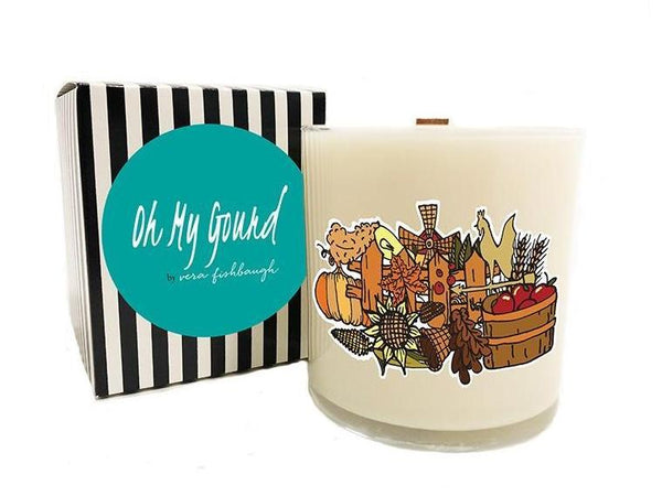 Oh My Gourd Soy Candle