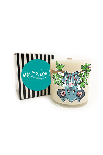 Take It or Leaf It Soy Candle