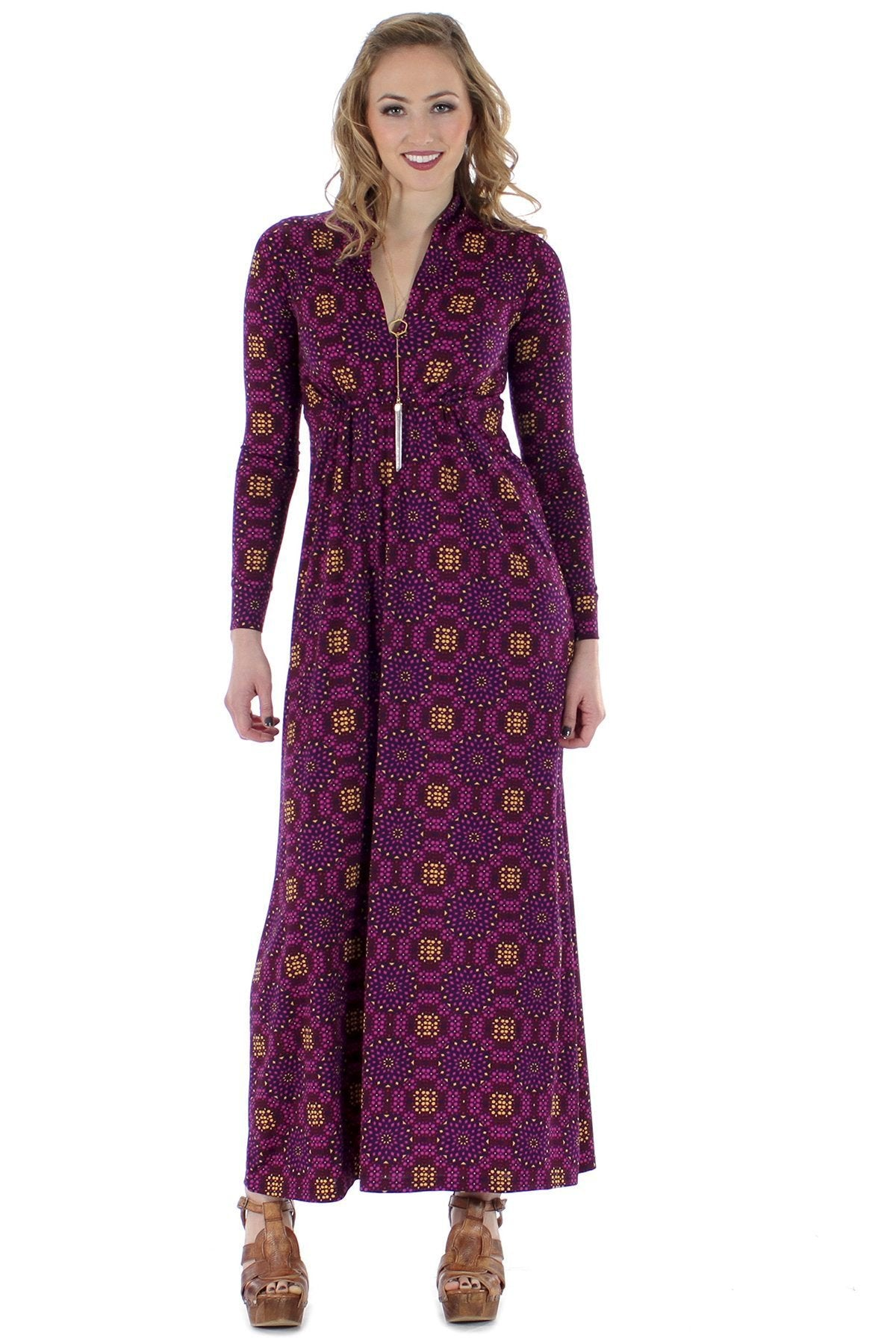Long Sleeve Sharon Maxi - Fall 15