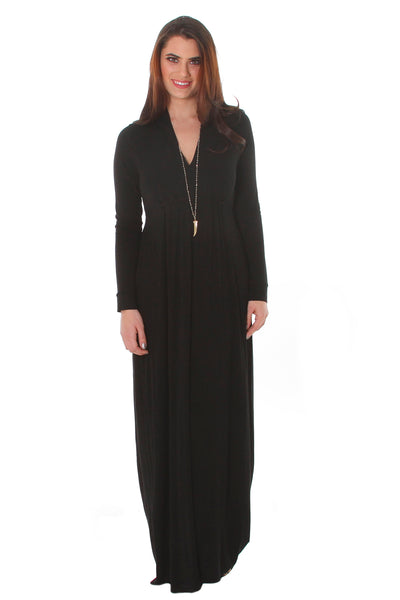 Long Sleeve Sharon Maxi