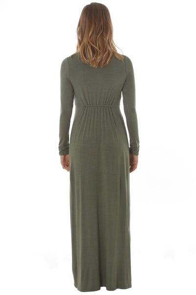 Long Sleeve Sharon Maxi - Fall 16