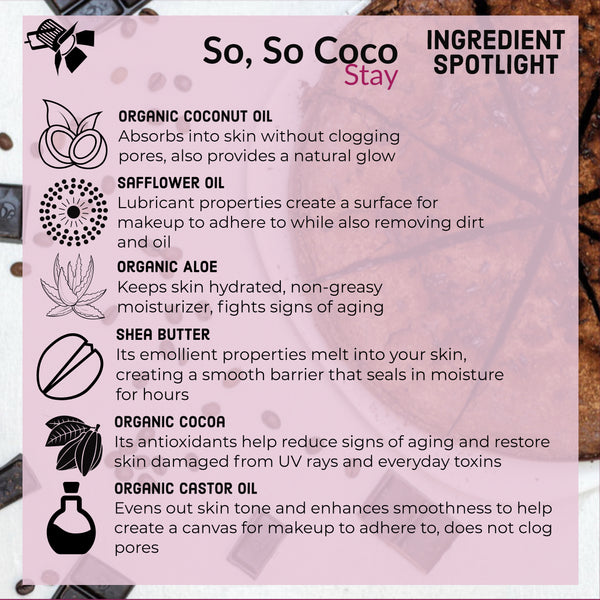 be fancy cosmetics skincare so so coco stay primer moisturizer vegan affordable