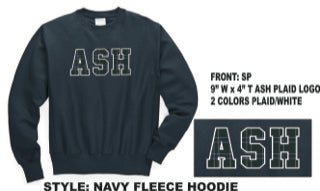 ASH Navy Sweatshirt