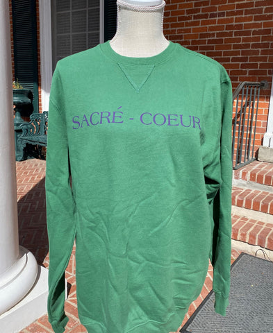 Safari Green Sacre Coeur Sweatshirt