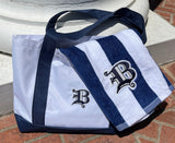 Monogrammed Beach Towel and Tote