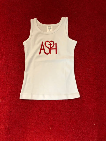 ASH Youth Girls Tank - white