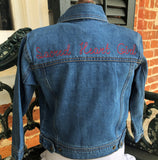"ASH Youth ""Sacred Heart Girl"" Denim Jacket"