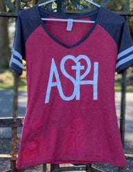 Ladies ASH V-Neck Tee