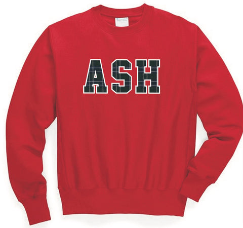 RED ASH and RED 1821 Sweatshirt for Seniors and Alums
