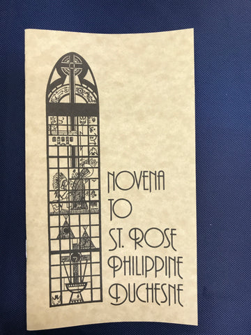 Novena to St. Rose Philippine Duchesne