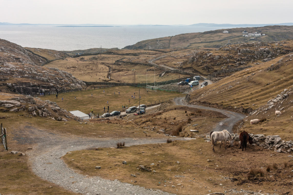 Inishturk Island v Clare Island, Paul Carroll - The Library Project