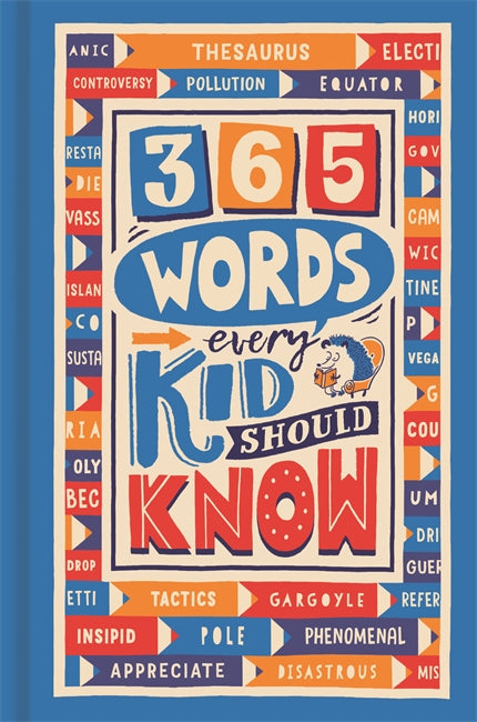 365 Words Every Kid Should Know, Lauren Holowaty