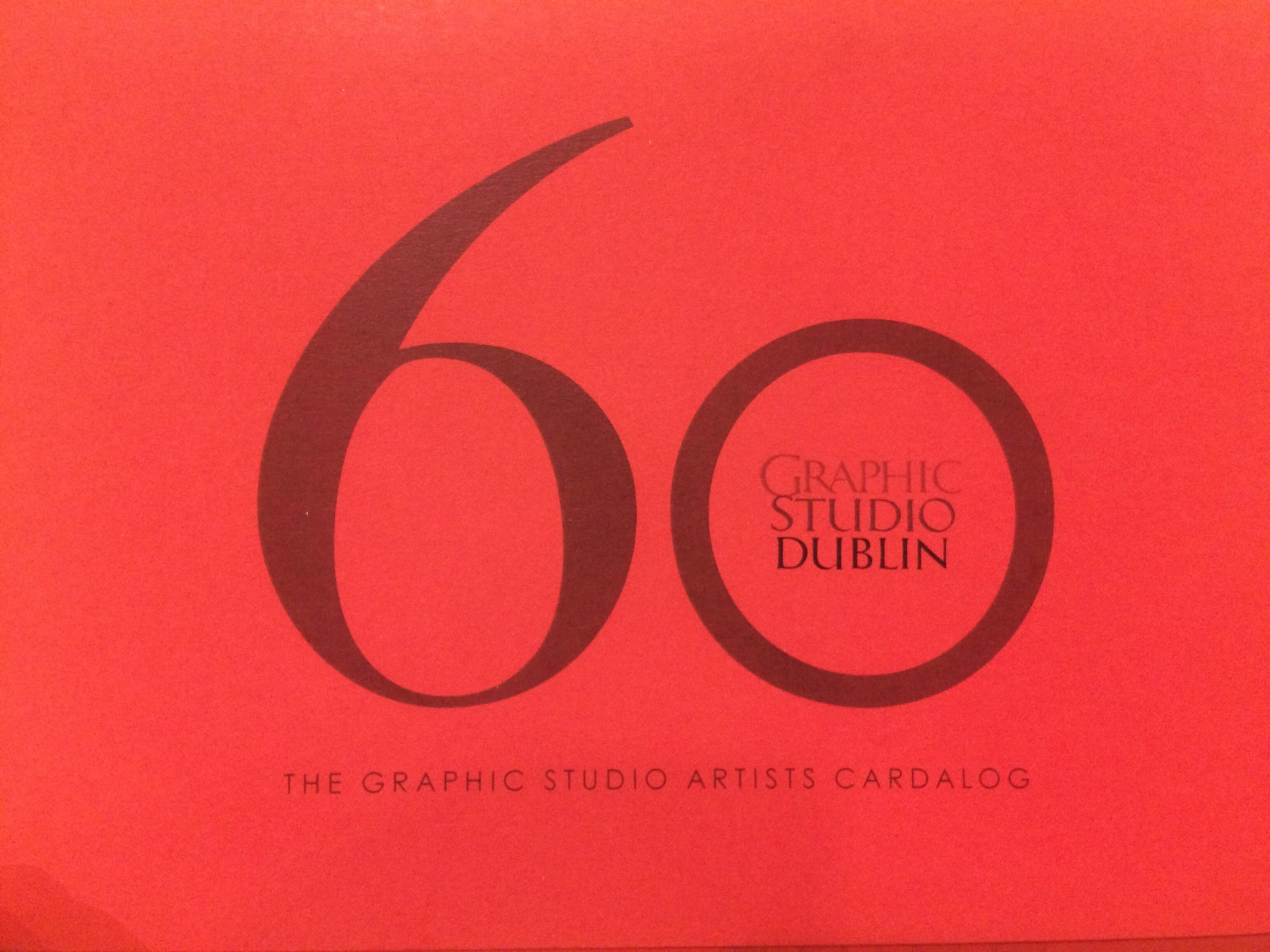 60 years The Graphic Studio Artists Cardalog - The Library Project