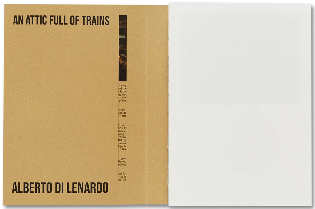 An Attic Full of Trains, Alberto di Lenardo, Carlotta di Lenardo