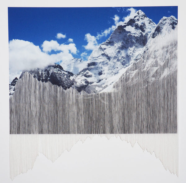 Alps, Sophie Mitchell (Framed) - The Library Project