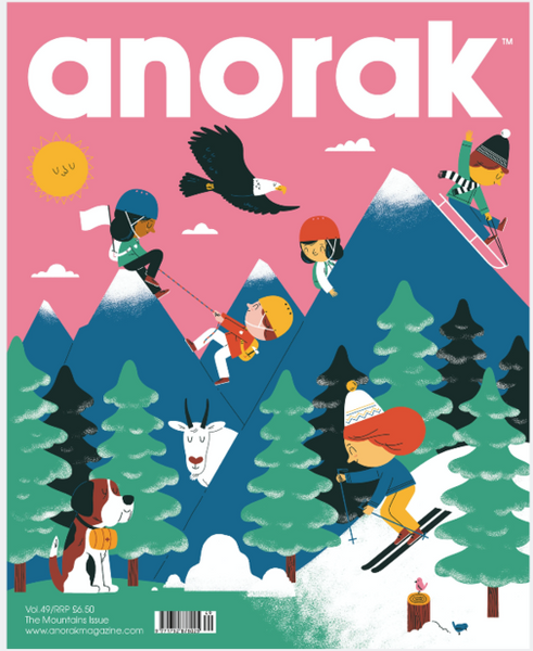 Anorak Issue 49: Mountains - The Library Project