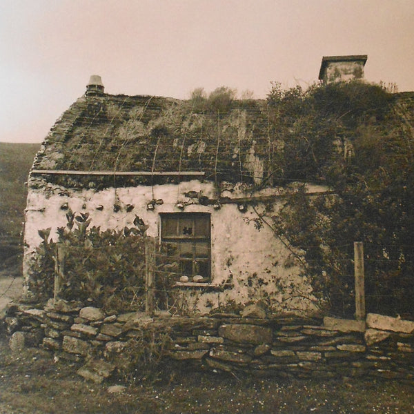 Donegal Cottage, Brian McIlvenny (Framed) - The Library Project