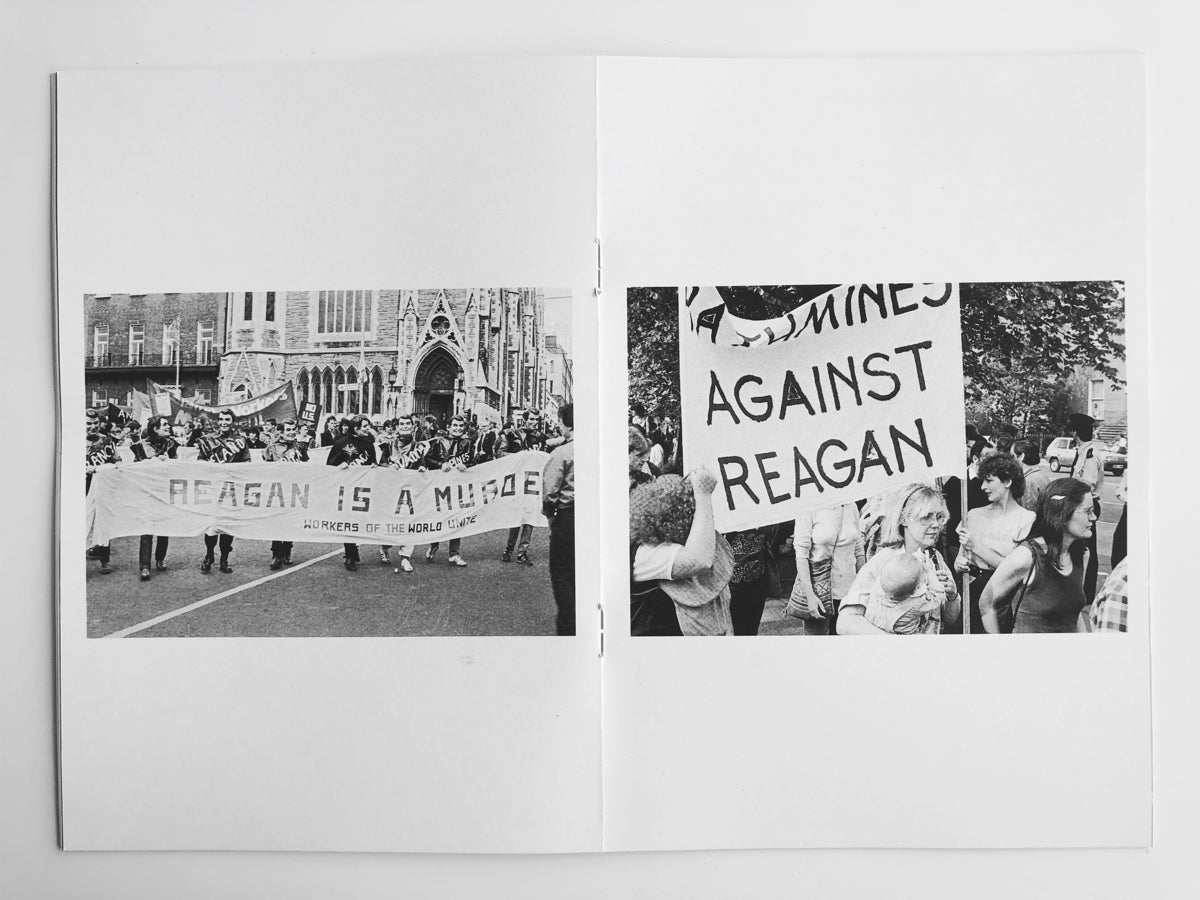 Reagan Protest Dublin 1984, Rose Comiskey