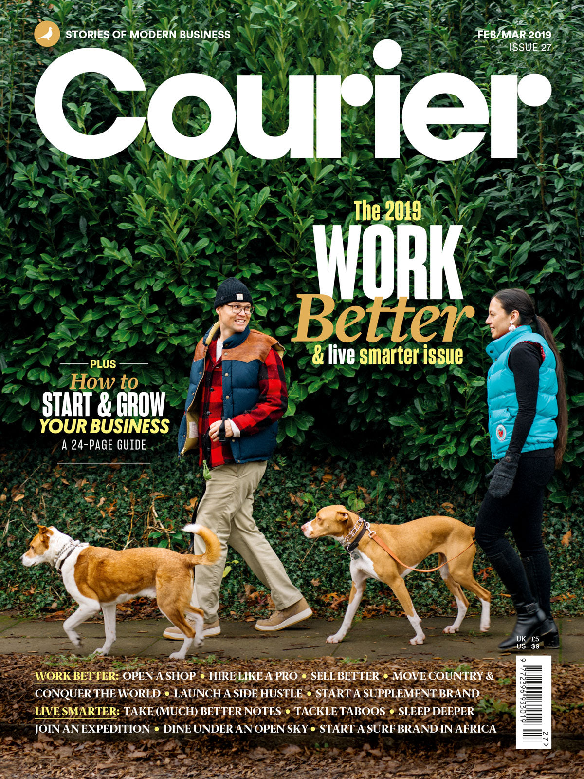 Courier Magazine, Issue 27 - The Library Project