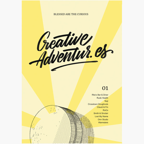 Creative Adventur.es Issue 1 - The Library Project