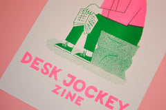 Desk Jockey Zine Issue 1 - The Library Project