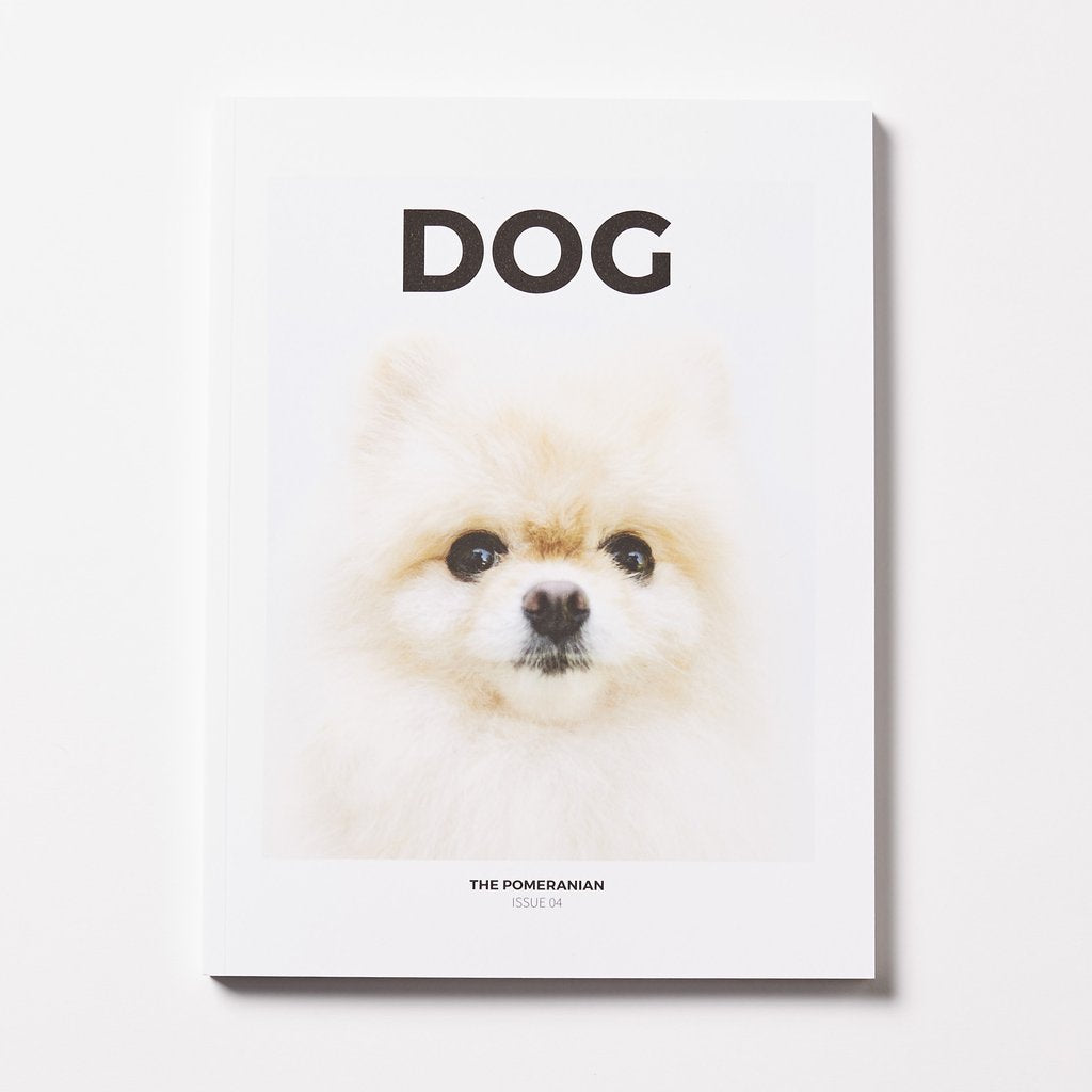 DOG Magazine issue 4 - The Pomeranian - The Library Project