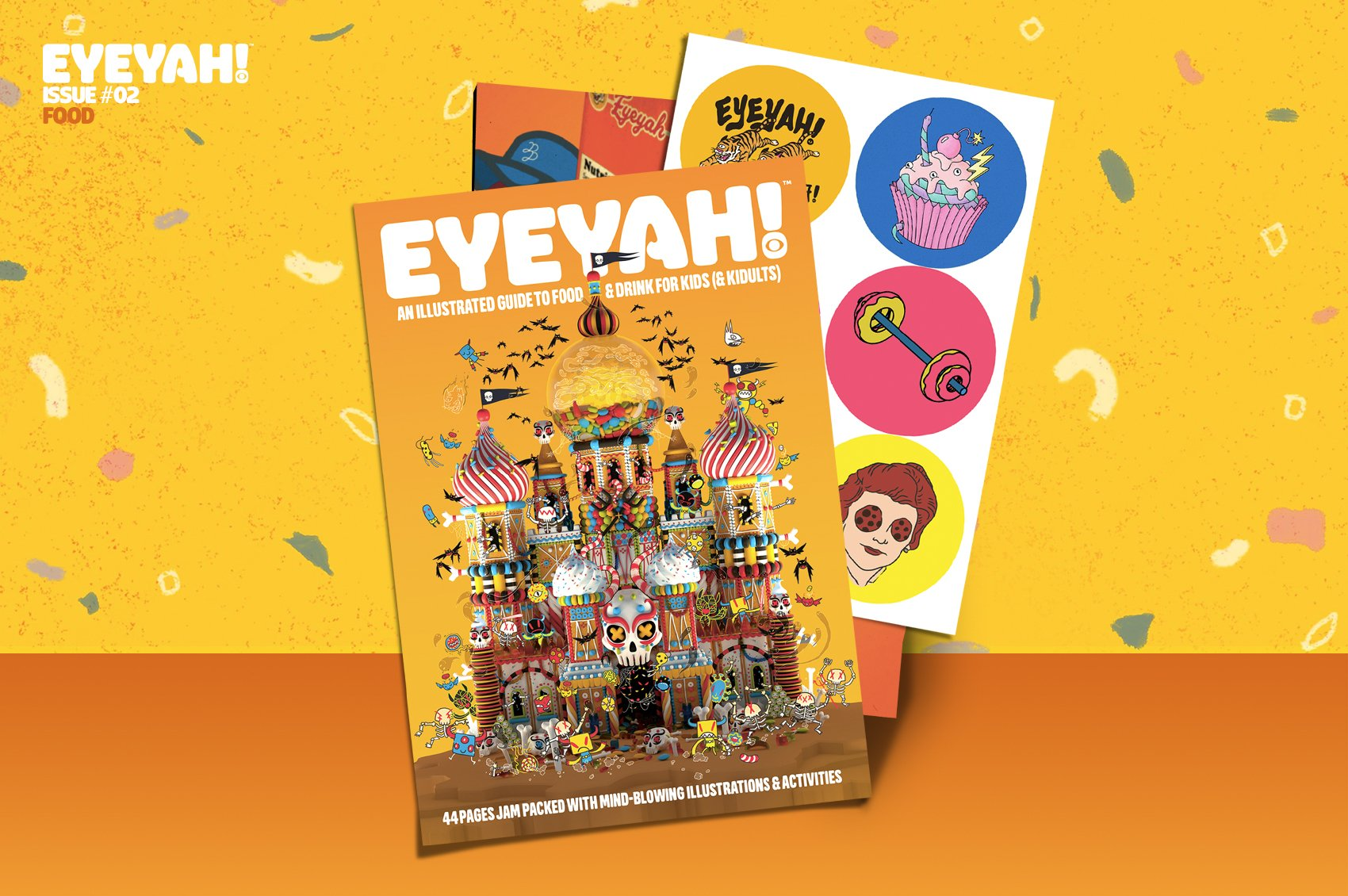 Eyeyah! Issue 2: Food - The Library Project