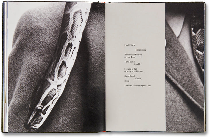 Girl Plays With Snake, Clare Strand - The Library Project