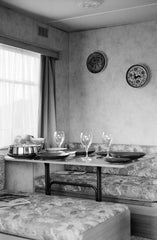 A Dinner for Three, Giulia Berto (Framed) - The Library Project