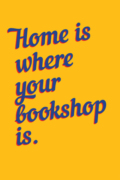 """Home is Where Your Bookshop Is"" Postcards - The Library Project"