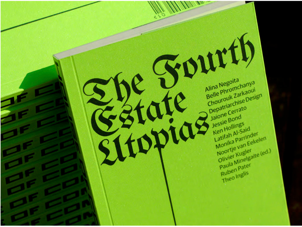 House of Common Affairs Journal, Issue 1: The Fourth Estate Utopias - The Library Project