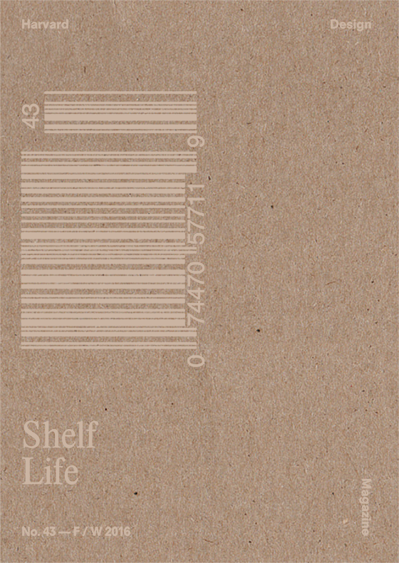 Harvard Design Magazine Issue 43: Shelf Life - The Library Project