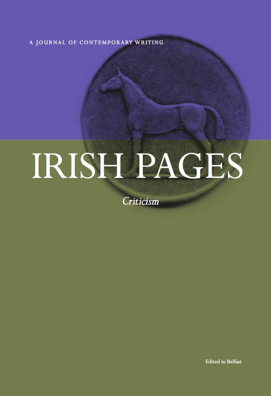 Irish Pages: Criticism - The Library Project