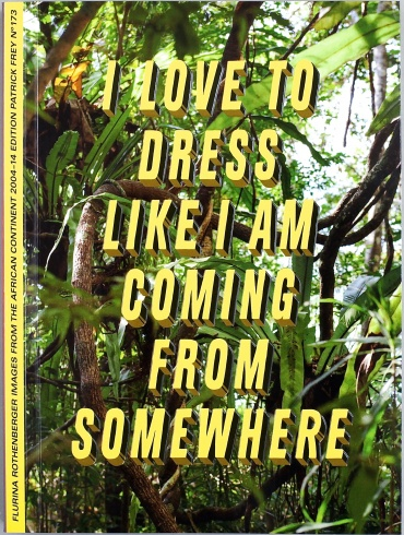 I love to dress like I am coming from somewhere  - Flurina Rothenberger - The Library Project