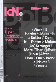 IdN Vol.23 Issue 3: Type Lettering - The Library Project
