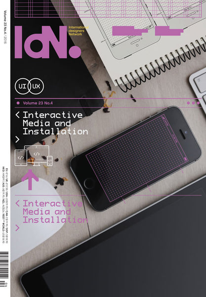 IdN Vol.23 Issue 4: Interactive Media and Installation - The Library Project