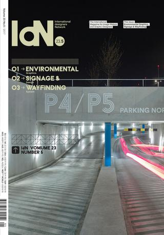 IdN Vol.23 Issue 5: Environmental Design, Signage and Wayfinding - The Library Project