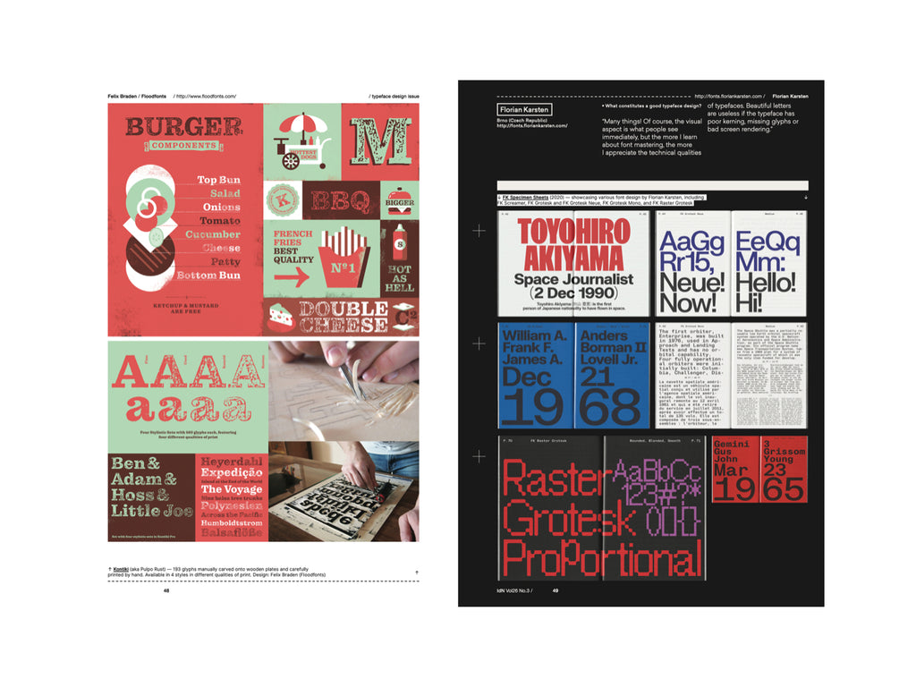 IdN Issue 26.3: Typeface Design