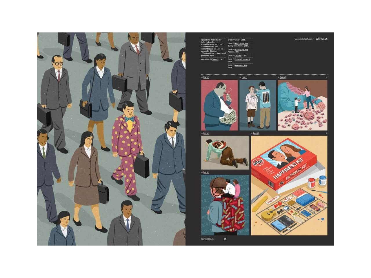 IdN Issue 25.1: The Language of Illustration - The Library Project