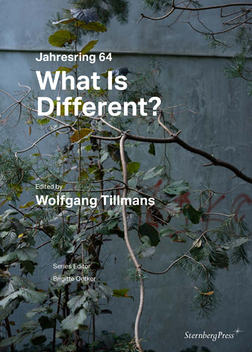 Jahresring 64: What is Different?, Wolfgang Tillmans