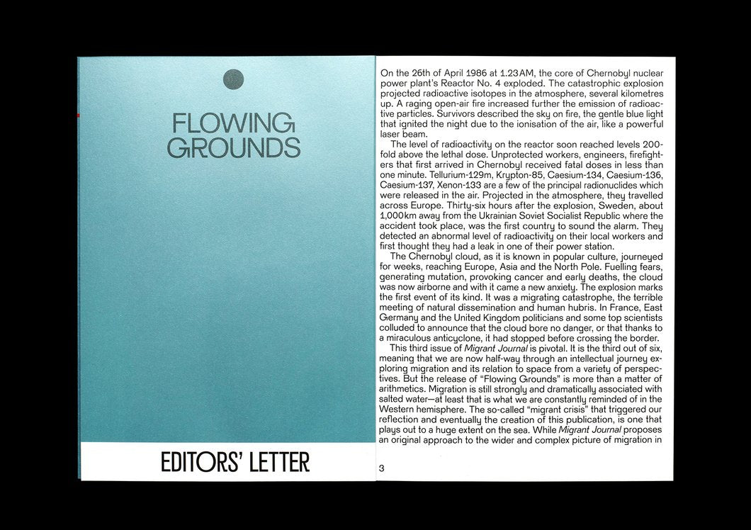Migrant Journal 3: Flowing Grounds
