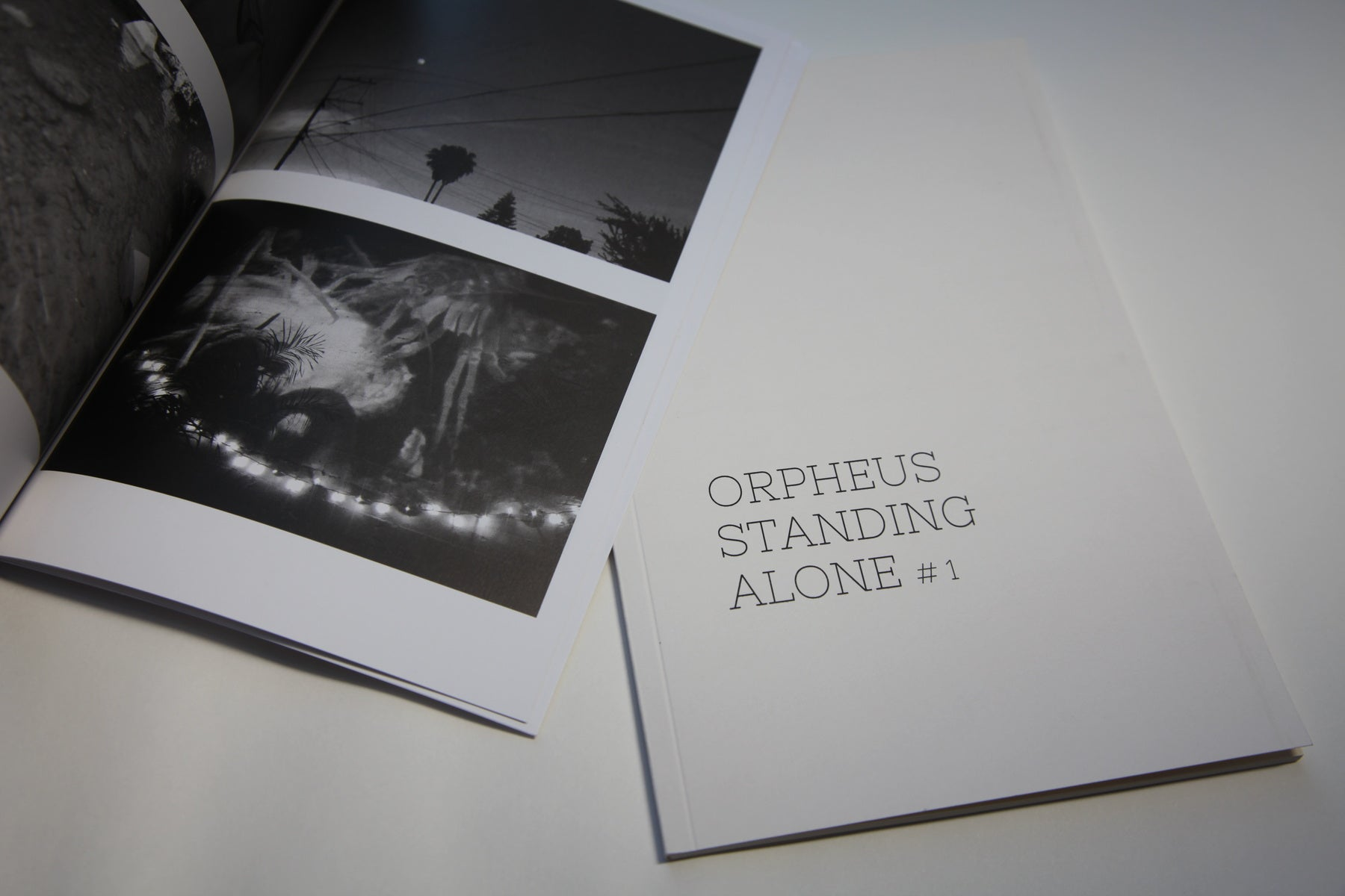 Orpheus Standing Alone Issue 1 - The Library Project