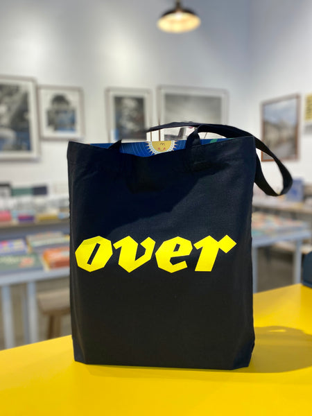 OVER Journal Tote Bag
