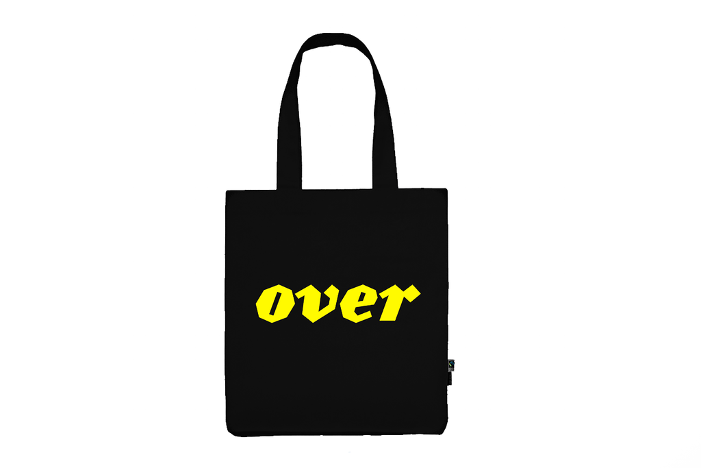 OVER Journal Tote Bag - The Library Project
